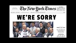 NYT Prints Giant Piece Of Fake News—Trump Exposes The TRUTH To America
