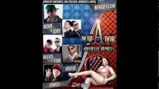 Ñengo flow ft nova y jory, alexis y fido, julio voltio y jowell - matador (official remix) hd.flv
