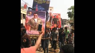 24 celebration in muvattupuzha area cmite KL 7 SURIYA FANS
