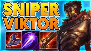 *CRAZY BUILD* THIS BUILD ON VIKTOR IS HILARIOUS - BunnyFuFuu Full Gameplay