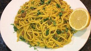 how to make pasta (Persian Style Spaghetti)