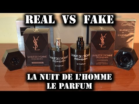 Fake fragrance - La Nuit de L'Homme Le Parfum by Yves Saint Laurent