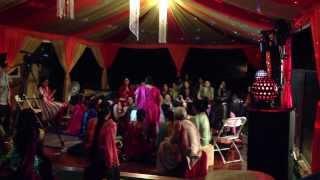 Jyoti's ladies sangeet night. Real desi style. #2