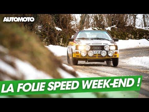 Speed Week end l enfer de la route de glace