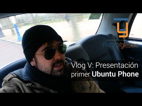 Vlog V: Presentación a Insiders del primer terminal Ubuntu Phone BQ/Canonical