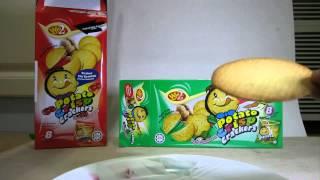 Win 2 Potato Crisp Crackers Food Review 1