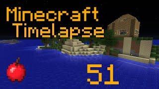 Pig Island House - Minecraft - Timelapse - Survival Island - Part 51