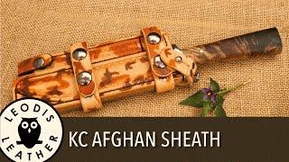 Making a Desert Sheath for a Kent Cutlery Knife