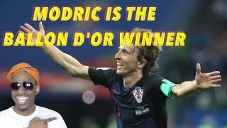 Modric is the Ballon D