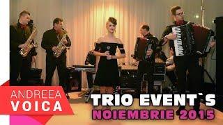 Andreea Voica - Seara Banateana la Trio (20.11.2015)  partea 1
