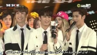 (Double S 301 [더블에스301]) PAIN 1st Win & Encore  @The Show [Arabic sub]