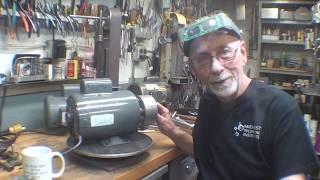 Making a 2x48 Belt Sander pt 3 Tips #512 tubalcain