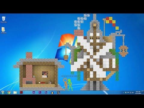 Animation vs. Minecraft original