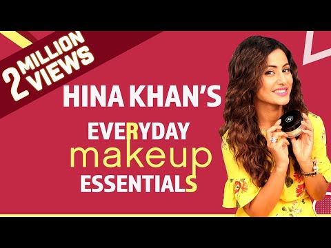 Xxx Mp4 Hina Khan What S In My Makeup Bag Bollywood Pinkvilla Fashion 3gp Sex