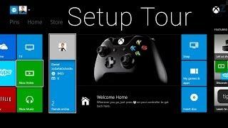 Xbox One Console Setup Process