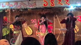 BUFT Pohela Boishakh 1422 - Sundori Komola - Rupa, Jenny & Hridjika-142 FDT