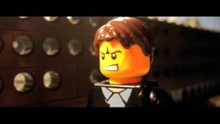 Real Steel Trailer in Lego German/Deutsch