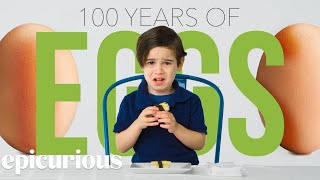 Kids Try 100 Years of Eggs | Bon Appétit