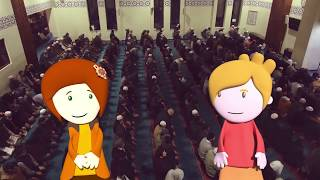 The Mosque - Discover Islam Cartoon