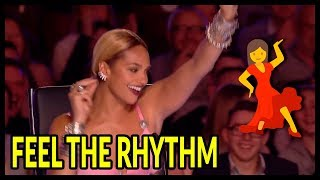 """Top 7 """"Judges Can't Sit"""" It's Too Much FUN... Let's Dance Moments On Got Talent UK!"""