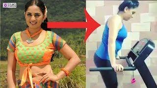 Tamil Actress Srushti Dange Gym Workout video   Tamil Actress Latest Videos   Srushti Dange
