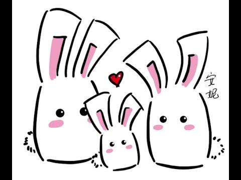 Download video easter chocolate bunny how to draw easy for Easy spring pictures to draw