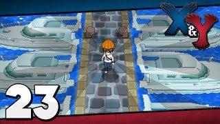 Pokémon X and Y - Episode 23 | Exploring Coumarine City!