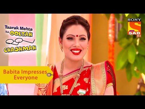 Xxx Mp4 Your Favorite Character Babita Impresses Everyone Taarak Mehta Ka Ooltah Chashmah 3gp Sex