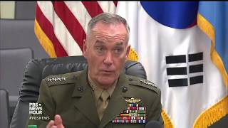 News Wrap: North Korean strike on U.S. could lead to war, says Mattis