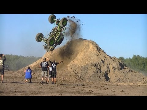 First mud truck back flip ever Cory Rummell in Going Deep