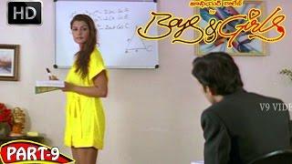Boys and Girls Telugu Full Movie Part 9/10 - Arjun Singh, Shyla Lopez - V9videos