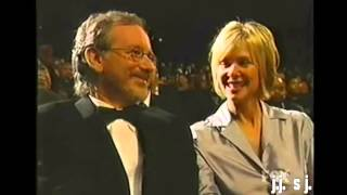 Diana Ross Honors Steven Spielberg At NAACP Image Awards- 2000 .