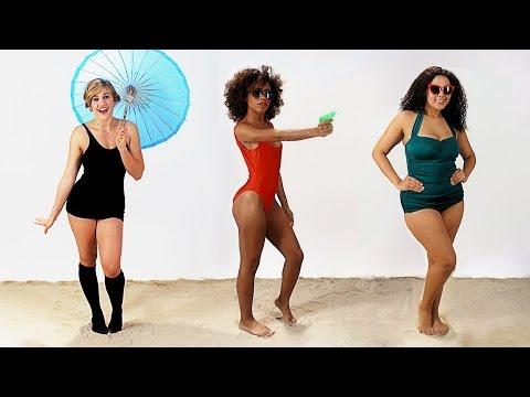 Women's Swimsuits Through History