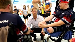 Invictus Games chairman on Prince Harry and Meghan Markle