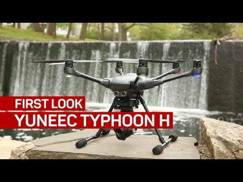 Yuneec Typhoon H has a lot going for it, but not build quality