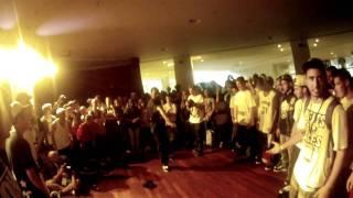 IBE 2011 Final Top-Rock - Bboy Chakal (La Smala) Vs Whako - Illest Villians Crew (Us)