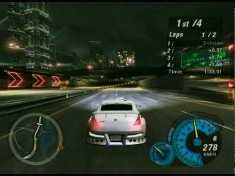 Need For Speed Underground 2 on maximum settings