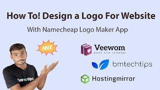 How To Design a Beautiful Logo For Website Using Namecheap 2019