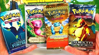 OPENING VERY RARE VINTAGE POKEMON CARDS PACKS! (16 YEARS OLD!)