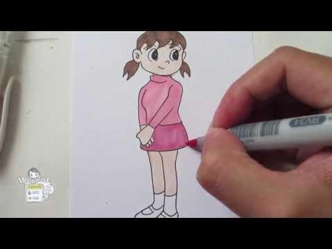 Xxx Mp4 How To Draw Shizuka From Doraemon 静ちゃん 3gp Sex