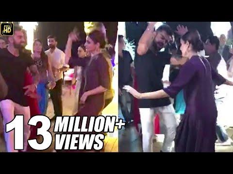 Virat Anushka's CUTE Dance At Yuvraj Singh's Wedding 2016 LEAKED