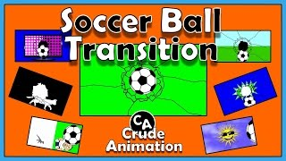 Animated Soccer Ball Transition / Montage, + Free Download