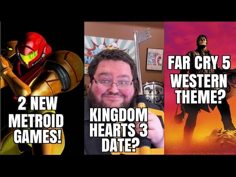 New METROID Games? Kingdom Hearts 3 release date!  Far Cry 5 WESTERN?