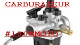 *tuto n°2 comment régler son carburateur#100%MOTO*