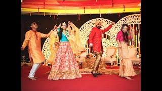 Fariha & Fahim's haldi Dance performance
