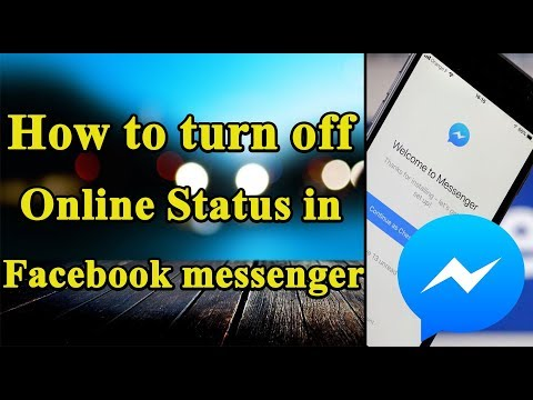 How to Turn Off Online status in Facebook Messenger