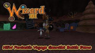 Wizard101 NEW Fantastic Voyage Gauntlet Battle Demo With Jock Coosto