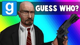 Gmod Guess Who Funny Moments - Walter White Edition (Garry