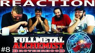 Fullmetal Alchemist: Brotherhood Episode 8 REACTION!!