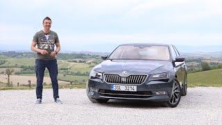 Тест-драйв Skoda Superb (2015) в Италии